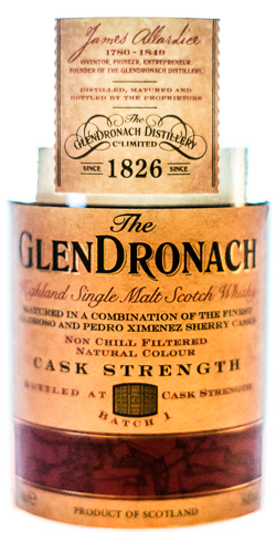 Glendronach Cask Strength batch 1
